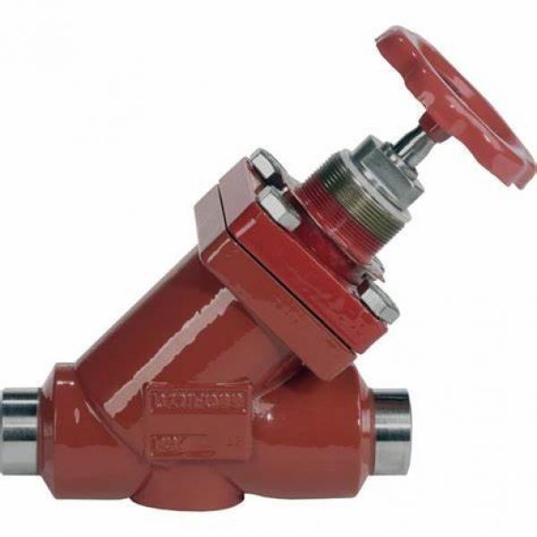 Danfoss Shut-off valves 148B4618 STC 125 A ANG  SHUT-OFF VALVE CAP #2 image